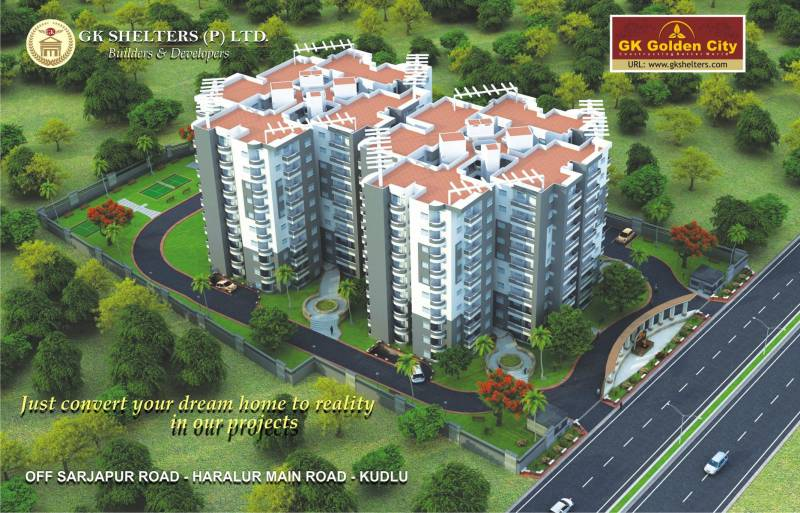 Images for Elevation of GK Golden City