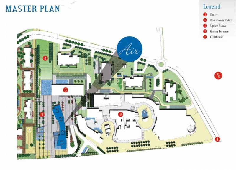 air Images for Master Plan of Unitech Air