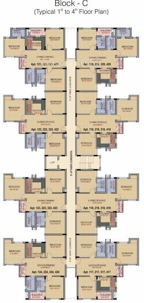 Images for Cluster Plan of RSK Orchid Garden