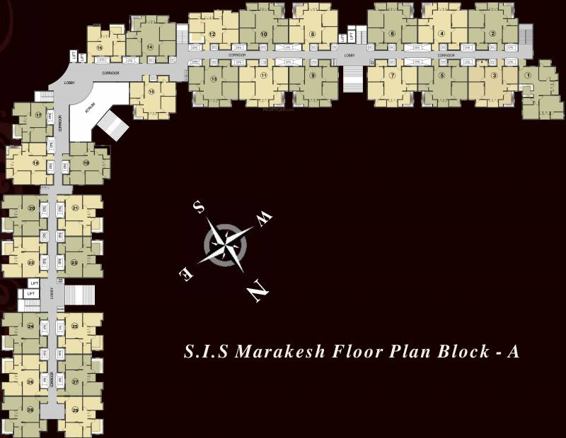 Images for Cluster Plan of South India Marakesh