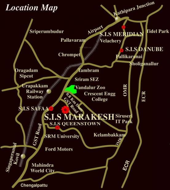 Images for Location Plan of South India Marakesh