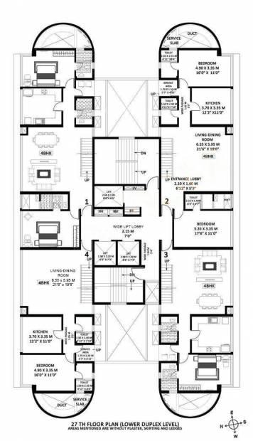 Images for Cluster Plan of Godrej Platinum