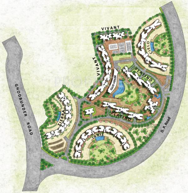 Images for Site Plan of Lodha Splendora