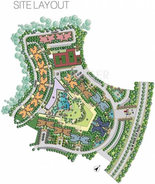 Images for Site Plan of Lodha Splendora