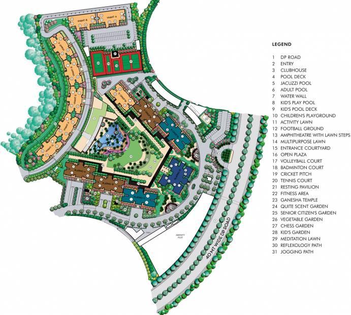 Images for Master Plan of Lodha Splendora