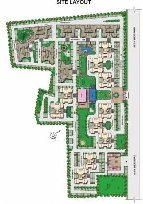 residency Images for Site Plan of Omaxe Residency