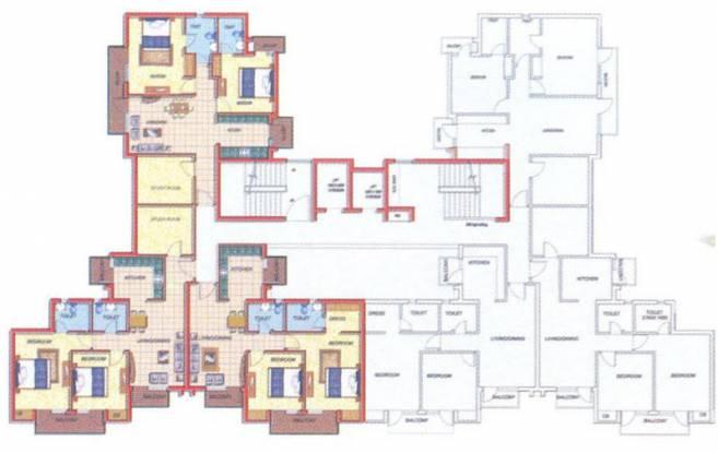 residency Images for Cluster Plan of Omaxe Residency