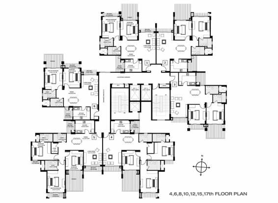 Images for Cluster Plan of Godrej Anandam