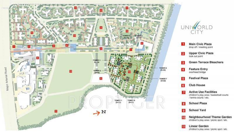 Images for Master Plan of Unitech Harmony