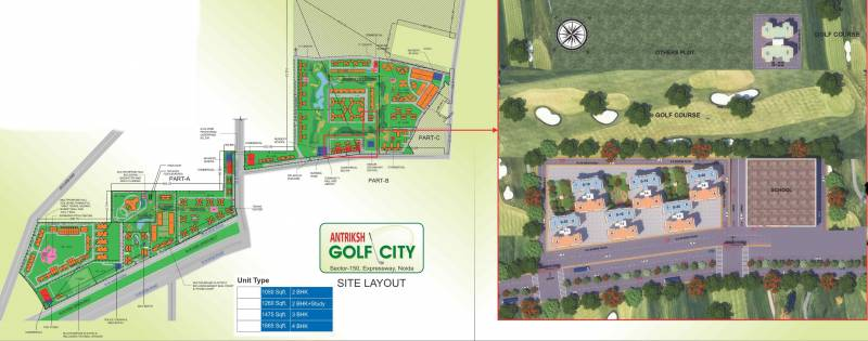 Images for Layout Plan of The Antriksh Golf City