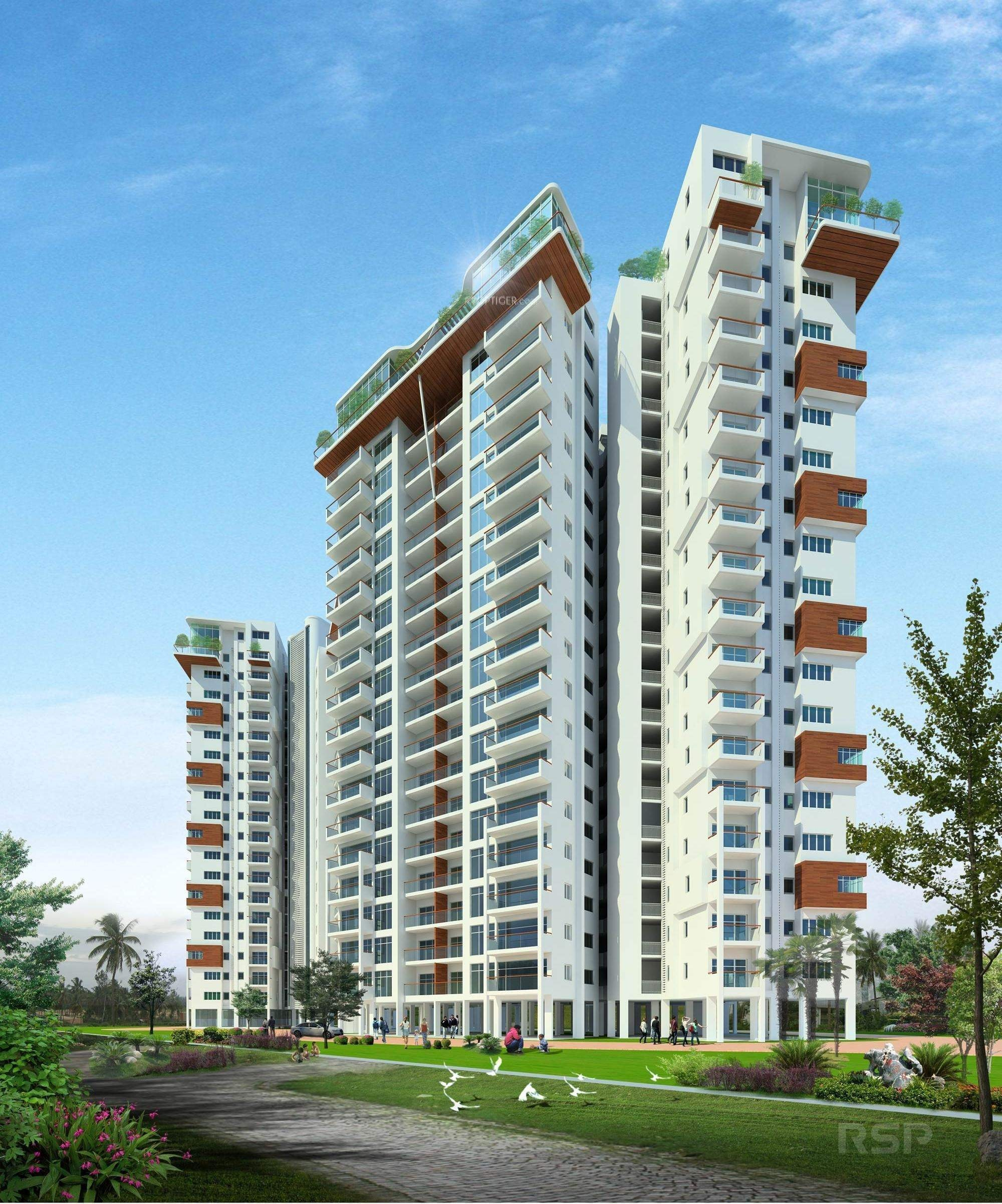 4180 Sq Ft 4 BHK 5T Apartment For Sale In Skylark Group