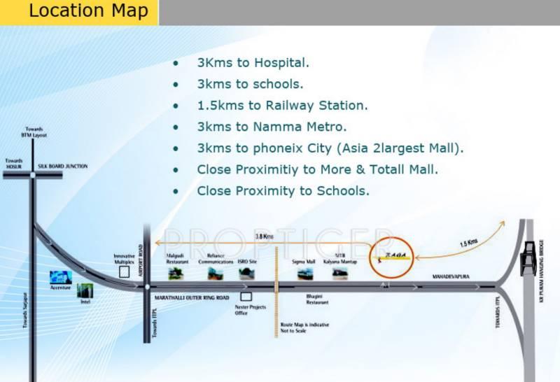 raga Location Plan