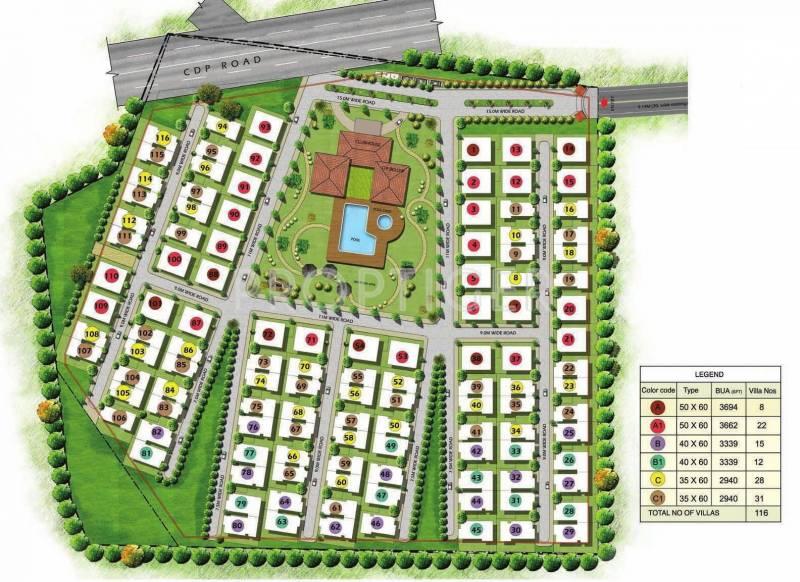 Images for Master Plan of Prestige Glenwood