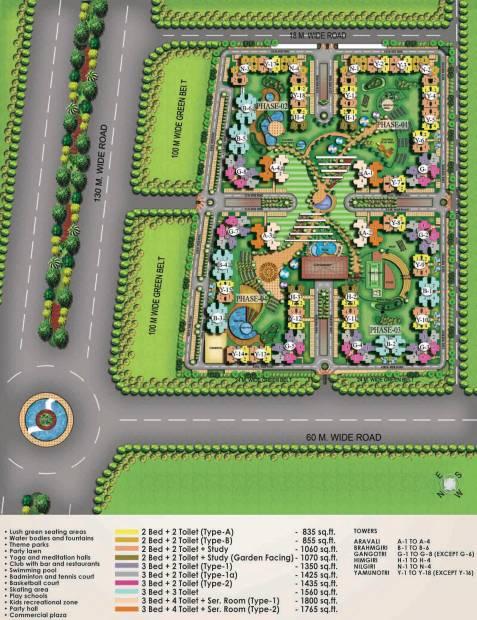 sampoornam-i Images for Layout Plan of Eros Sampoornam I