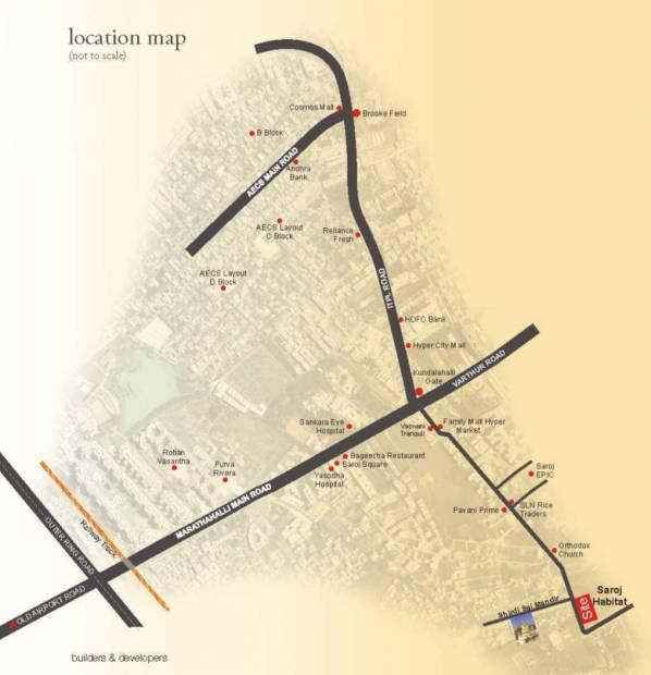Images for Location Plan of Saroj Habitat