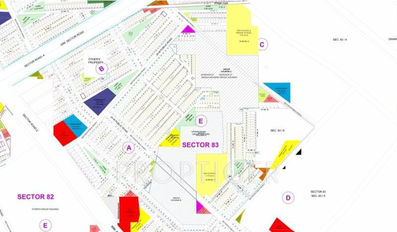 Images for Master Plan of Vatika Primrose Floors