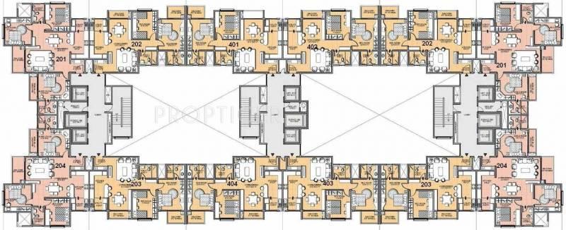 Images for Cluster Plan of Salarpuria Sattva Salarpuria Sattva Greenage