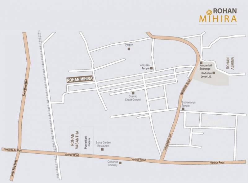 mihira Images for Location Plan of Rohan Mihira