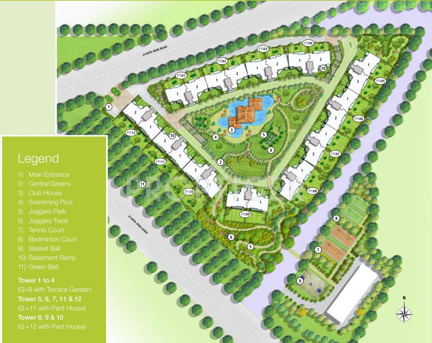 Emaar Palm Terraces Select In Sector 66 Gurgaon Price Location Map Floor Plan Reviews Proptiger Com