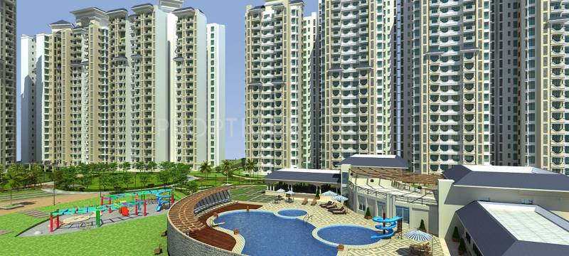 Images for Elevation of Ramprastha The Edge Towers