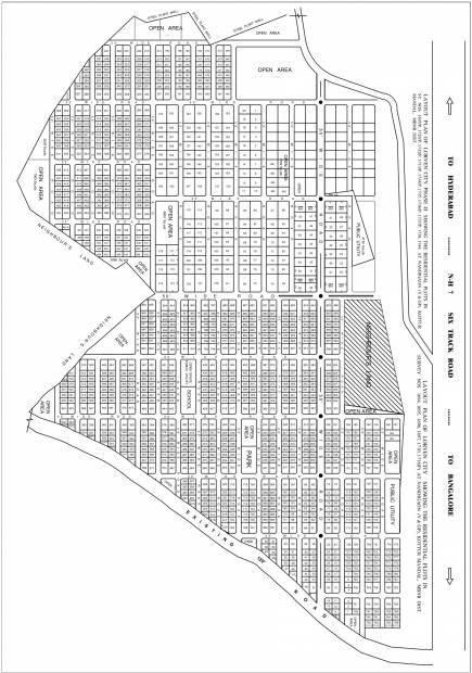 Images for Layout Plan of Vasundhara Lorven City