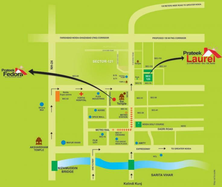 Images for Location Plan of Prateek Laurel
