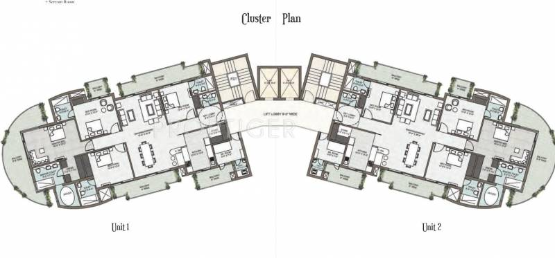 araville Tower A Cluster Plan