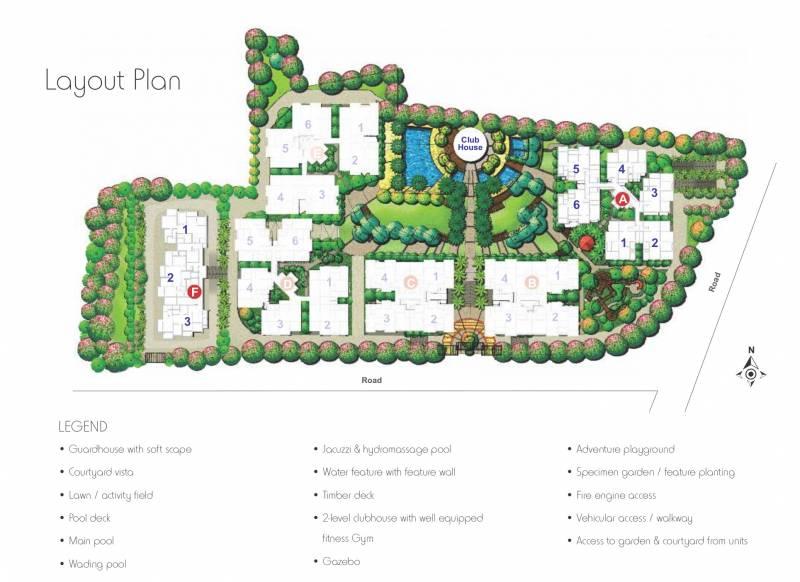 tarang Images for Layout Plan of Rohan Tarang