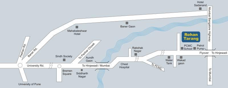 tarang Images for Location Plan of Rohan Tarang