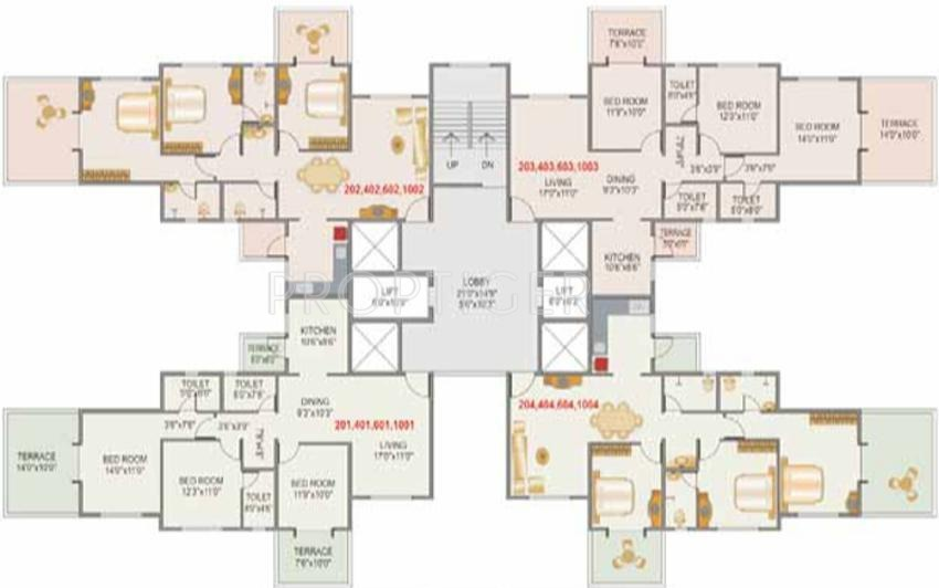 Pristine Grandeur In Wakad Pune Price Location Map