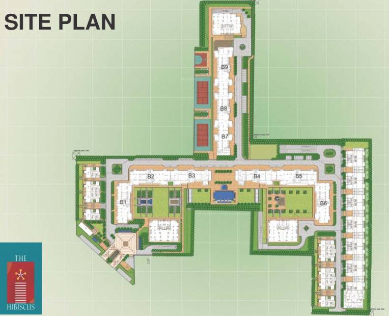 Images for Site Plan of SS The Hibiscus