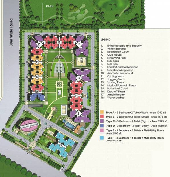 Images for Site Plan of Gulshan Vivante