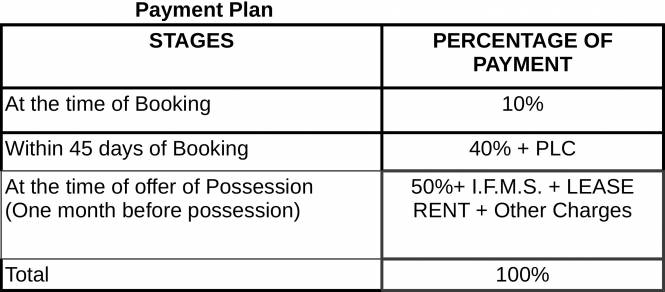 Images for Payment Plan of Gulshan Vivante
