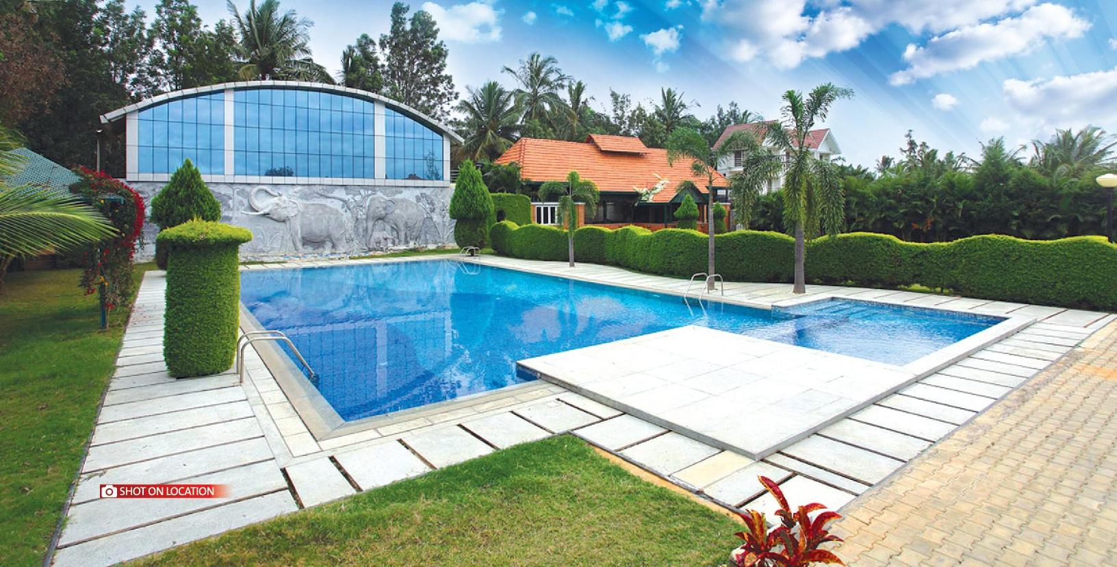 1500 sq ft plot for sale in jr garden retreat marsur bangalore - Swimming pool builders in bangalore ...