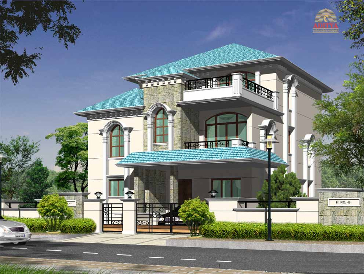 Wood Elevation Ymca : Sq ft bhk t villa for sale in aditya construction