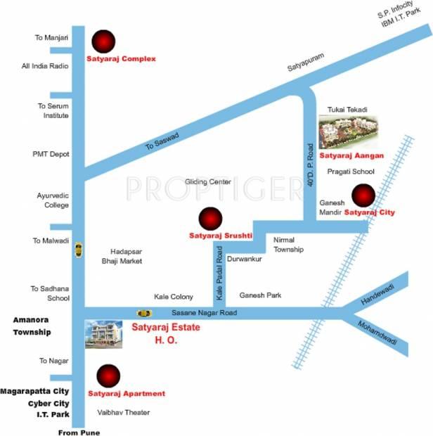 Images for Location Plan of Satyaraj Aangan