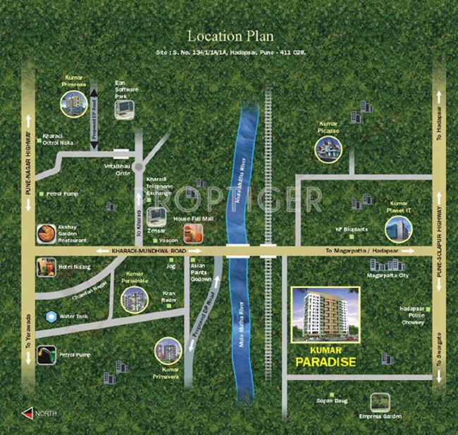 Images for Location Plan of Kumar Paradise
