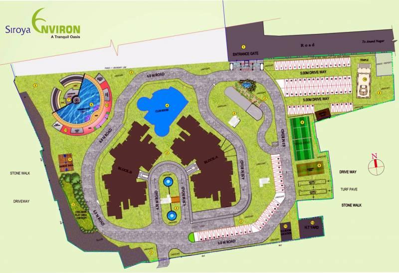 Images for Master Plan of Siroya Environ