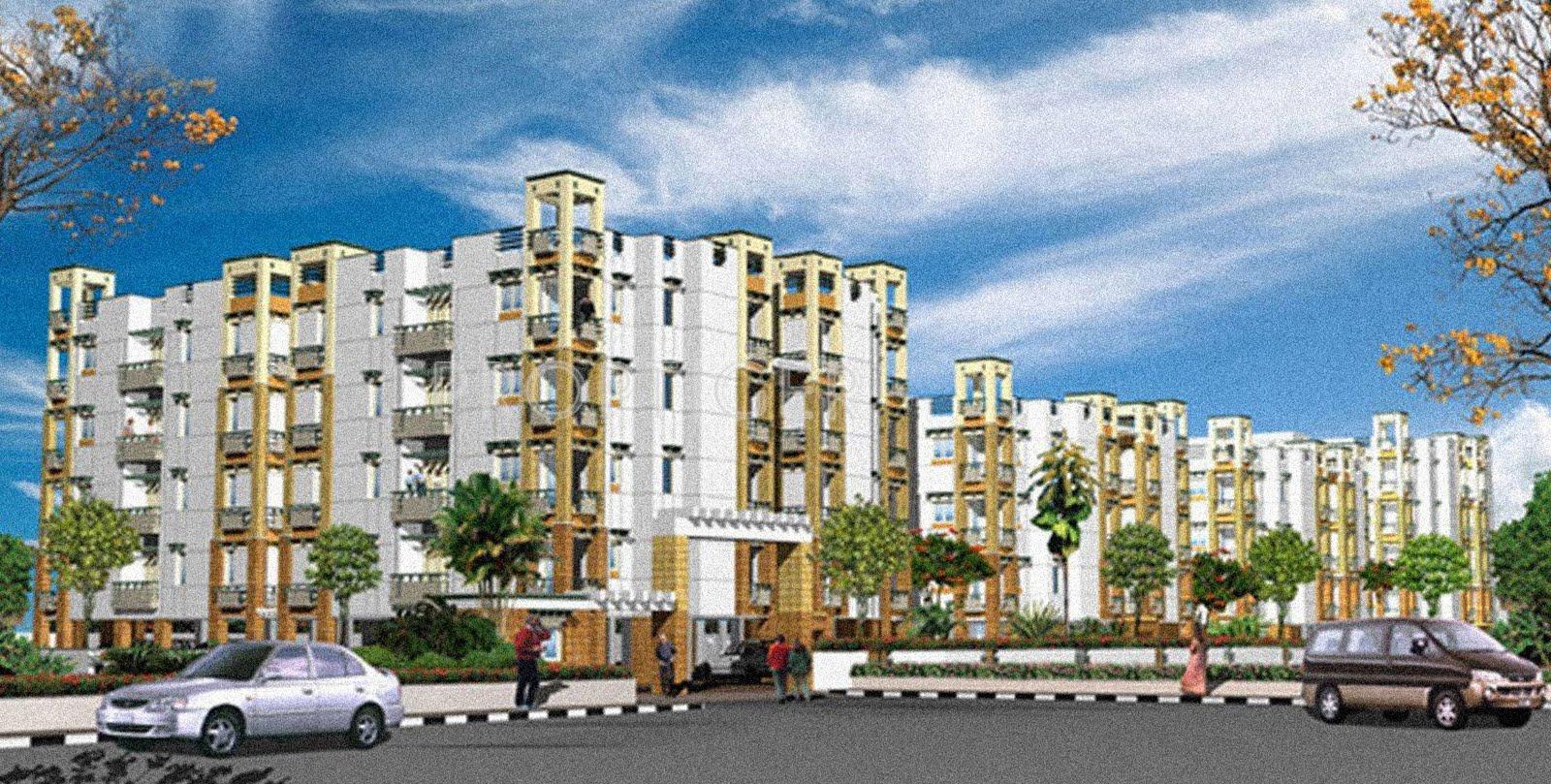 Vishranthi sabari terrace in sholinganallur chennai for Terrace elevation