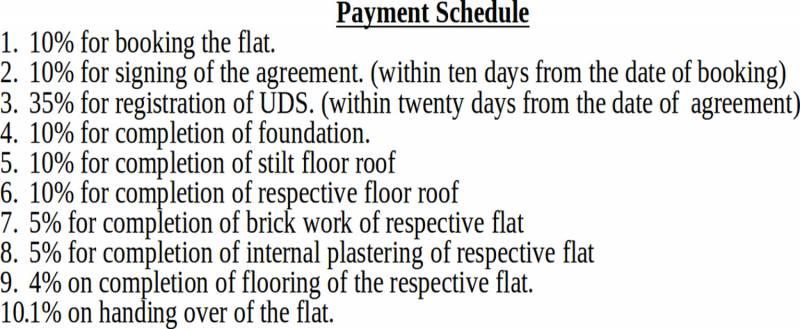 Images for Payment Plan of Rajni Kannan Gardens