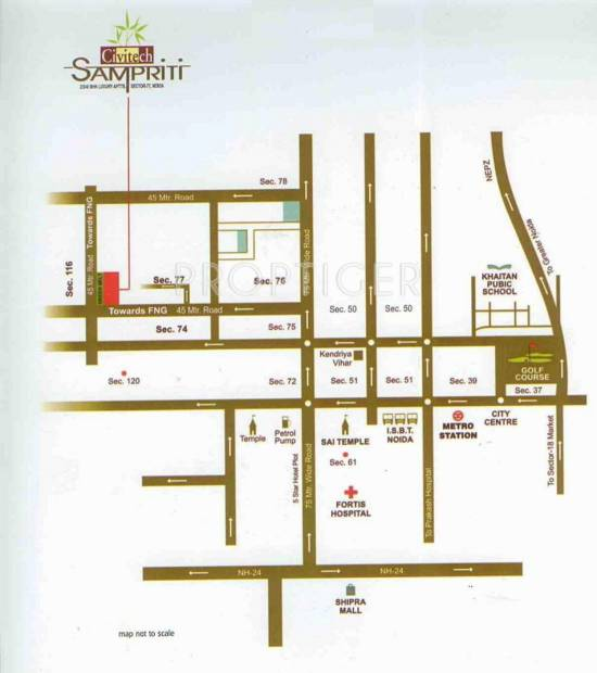 Images for Location Plan of Civitech Sampriti