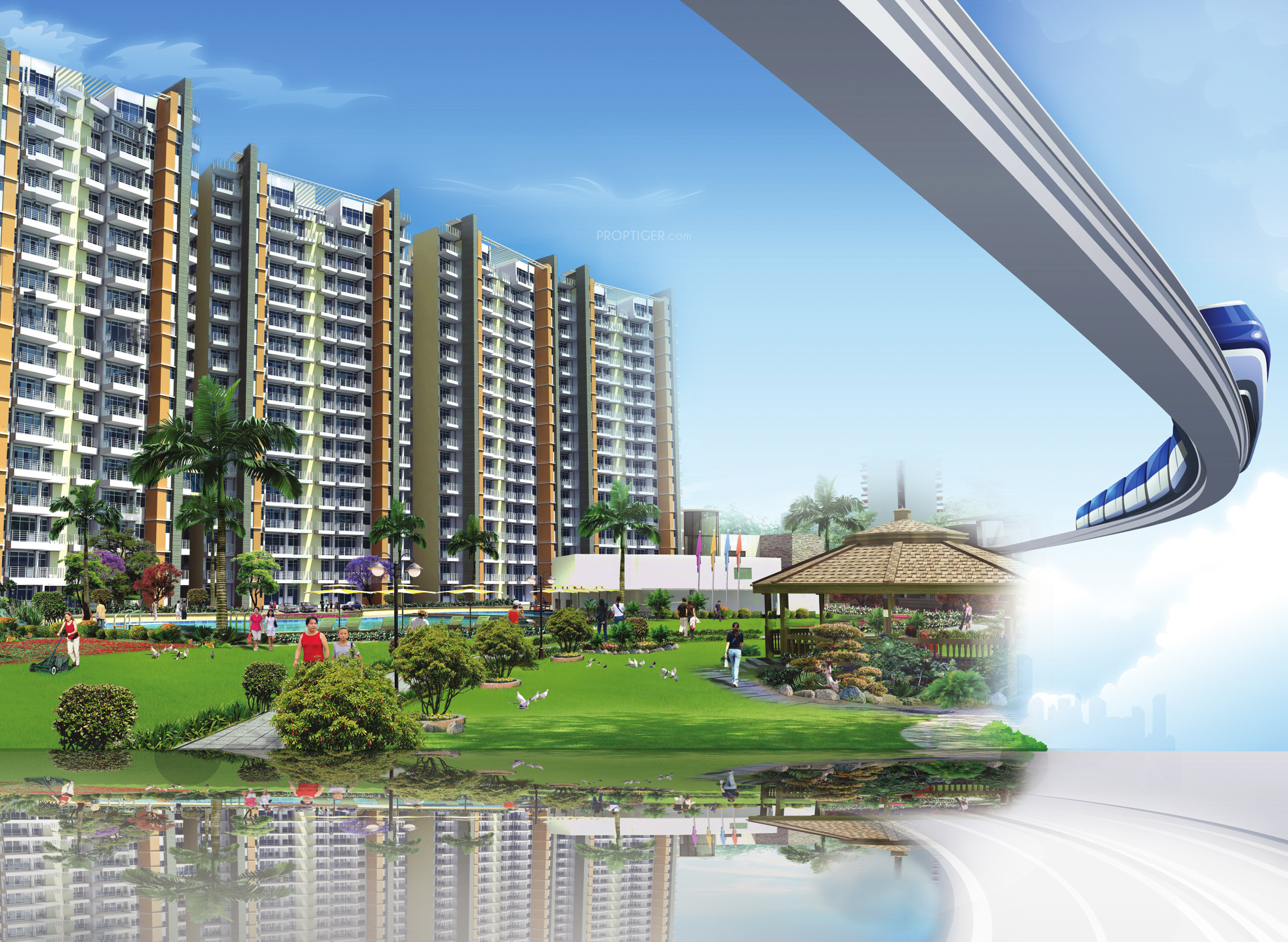 2535 Sq Ft 4 Bhk 4t Apartment For Sale In Mapsko Group