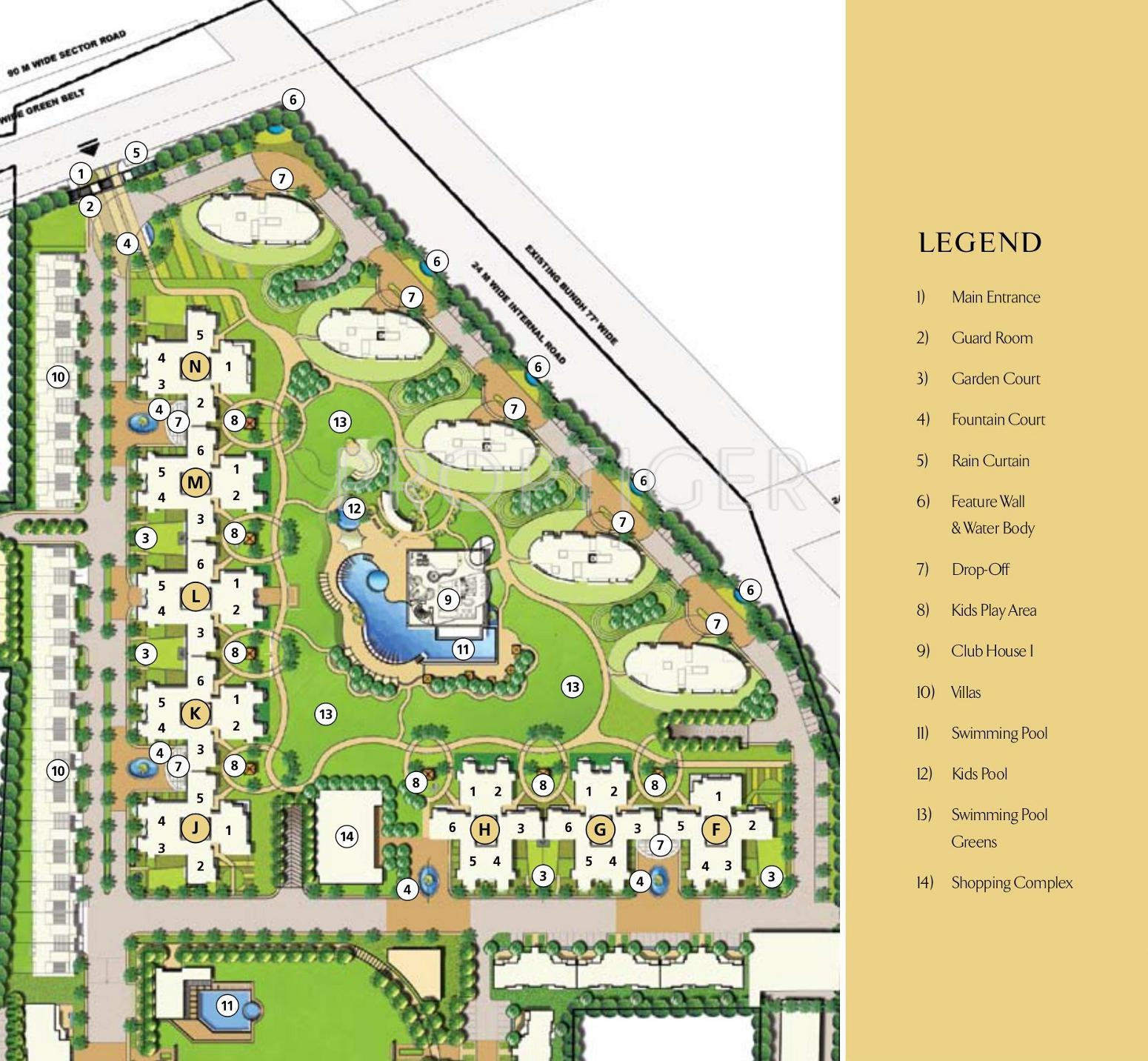 Emaar Palm Drive In Sector 66 Gurgaon Price Location