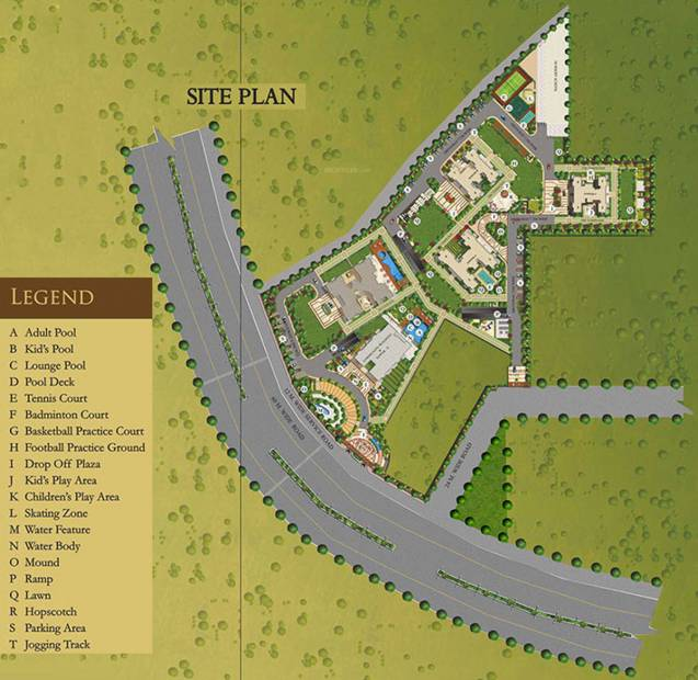 Images for Site Plan of AIPL The Peaceful Homes