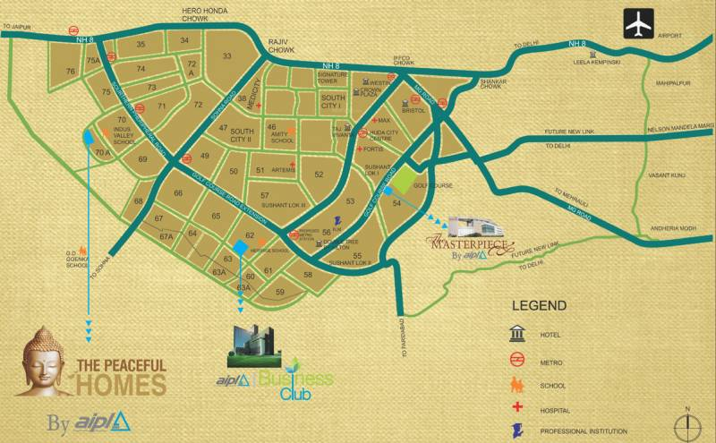 Images for Location Plan of AIPL The Peaceful Homes