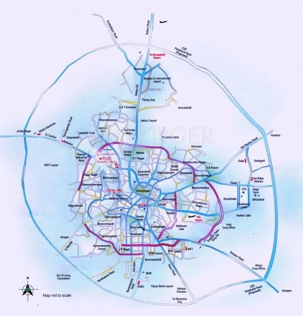 Images for Location Plan of RNS Shanthi Nivas