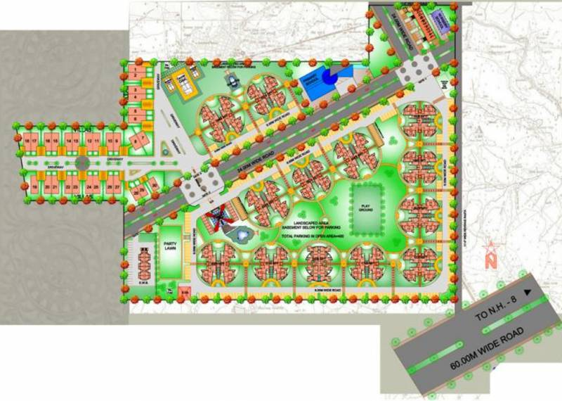 Images for Layout Plan of The Antriksh Heights