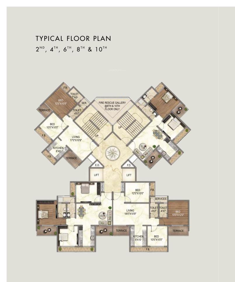 Nath Elite Grandeur In Kharghar Mumbai Price Location Map Floor Plan Reviews Proptiger Com