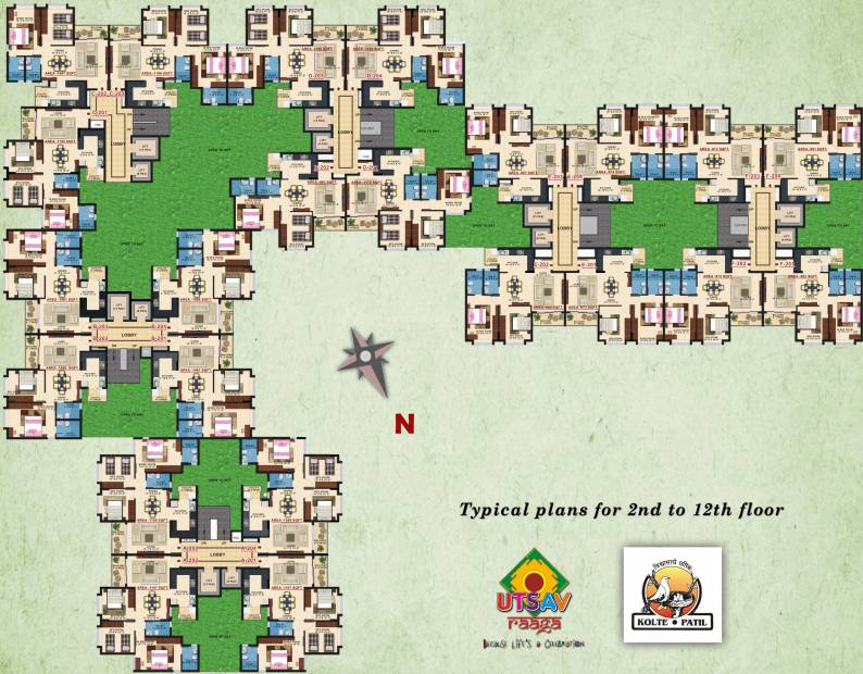 Images for Cluster Plan of Kolte Patil Raaga