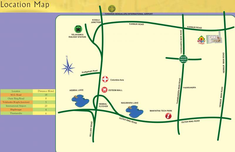 Images for Location Plan of Kolte Patil Raaga